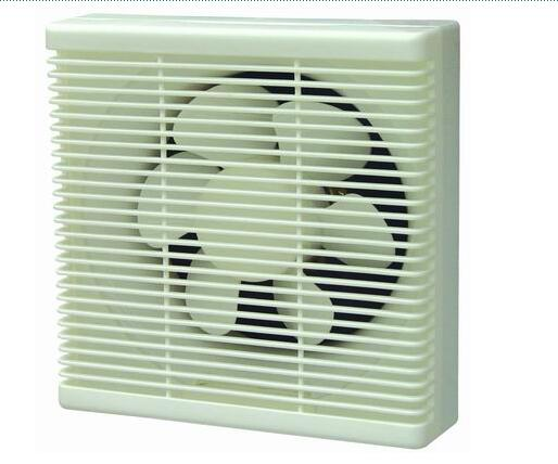 D Type Shutter Plastic Exhaust Fan